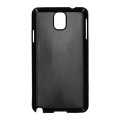 Leather Stitching Thread Perforation Perforated Leather Texture Samsung Galaxy Note 3 Neo Hardshell Case (Black)