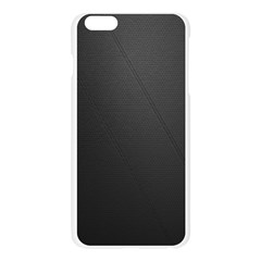 Leather Stitching Thread Perforation Perforated Leather Texture Apple Seamless iPhone 6 Plus/6S Plus Case (Transparent)
