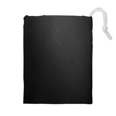 Leather Stitching Thread Perforation Perforated Leather Texture Drawstring Pouches (Extra Large)