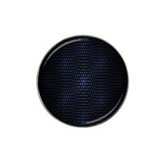 Hexagonal White Dark Mesh Hat Clip Ball Marker (4 Pack)
