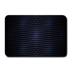 Hexagonal White Dark Mesh Plate Mats