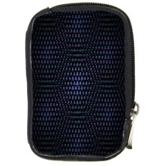 Hexagonal White Dark Mesh Compact Camera Cases
