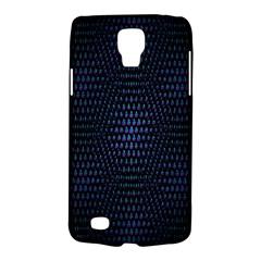 Hexagonal White Dark Mesh Galaxy S4 Active