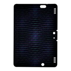 Hexagonal White Dark Mesh Kindle Fire HDX 8.9  Hardshell Case