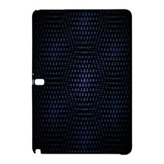 Hexagonal White Dark Mesh Samsung Galaxy Tab Pro 10 1 Hardshell Case