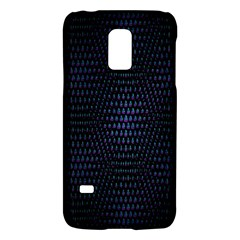 Hexagonal White Dark Mesh Galaxy S5 Mini