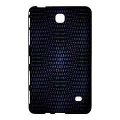 Hexagonal White Dark Mesh Samsung Galaxy Tab 4 (7 ) Hardshell Case