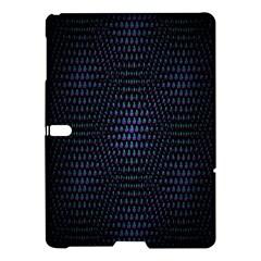 Hexagonal White Dark Mesh Samsung Galaxy Tab S (10.5 ) Hardshell Case