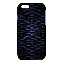 Hexagonal White Dark Mesh iPhone 6/6S TPU Case