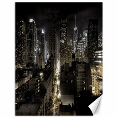 New York United States Of America Night Top View Canvas 18  X 24