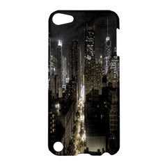 New York United States Of America Night Top View Apple iPod Touch 5 Hardshell Case