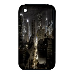 New York United States Of America Night Top View iPhone 3S/3GS