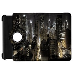 New York United States Of America Night Top View Kindle Fire HD 7