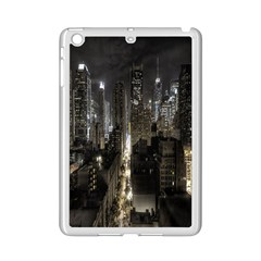 New York United States Of America Night Top View iPad Mini 2 Enamel Coated Cases