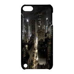New York United States Of America Night Top View Apple iPod Touch 5 Hardshell Case with Stand