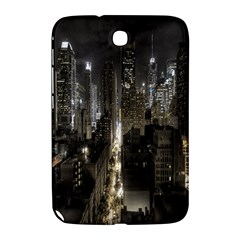 New York United States Of America Night Top View Samsung Galaxy Note 8.0 N5100 Hardshell Case