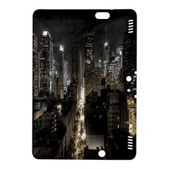 New York United States Of America Night Top View Kindle Fire HDX 8.9  Hardshell Case