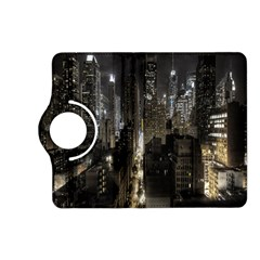 New York United States Of America Night Top View Kindle Fire HD (2013) Flip 360 Case