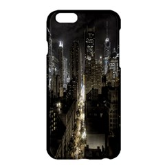 New York United States Of America Night Top View Apple iPhone 6 Plus/6S Plus Hardshell Case