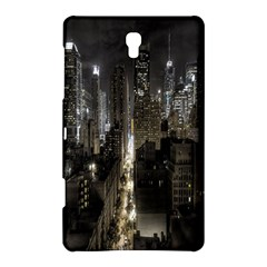 New York United States Of America Night Top View Samsung Galaxy Tab S (8.4 ) Hardshell Case