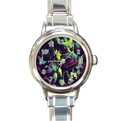 Items Headphones Camcorders Cameras Tablet Round Italian Charm Watch