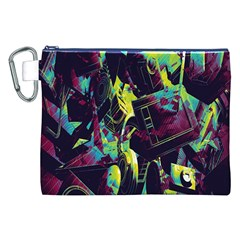 Items Headphones Camcorders Cameras Tablet Canvas Cosmetic Bag (XXL)