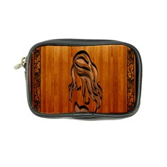 Pattern Shape Wood Background Texture Coin Purse