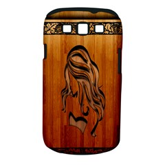 Pattern Shape Wood Background Texture Samsung Galaxy S III Classic Hardshell Case (PC+Silicone)
