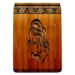 Pattern Shape Wood Background Texture Flap Covers (L)