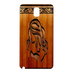 Pattern Shape Wood Background Texture Samsung Galaxy Note 3 N9005 Hardshell Back Case