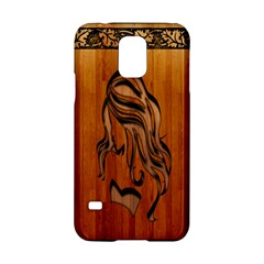 Pattern Shape Wood Background Texture Samsung Galaxy S5 Hardshell Case