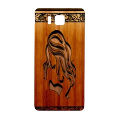 Pattern Shape Wood Background Texture Samsung Galaxy Alpha Hardshell Back Case