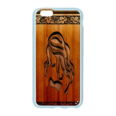 Pattern Shape Wood Background Texture Apple Seamless iPhone 6/6S Case (Color)