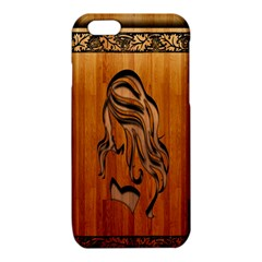 Pattern Shape Wood Background Texture iPhone 6/6S TPU Case