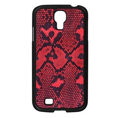 Leather Point Surface Samsung Galaxy S4 I9500/ I9505 Case (Black)