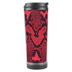Leather Point Surface Travel Tumbler