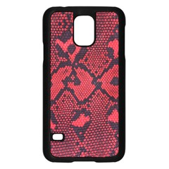 Leather Point Surface Samsung Galaxy S5 Case (Black)