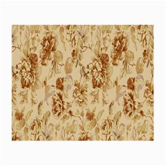 Patterns Flowers Petals Shape Background Small Glasses Cloth