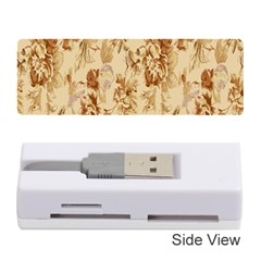 Patterns Flowers Petals Shape Background Memory Card Reader (stick)