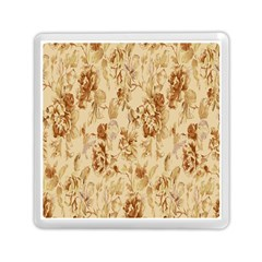 Patterns Flowers Petals Shape Background Memory Card Reader (square)