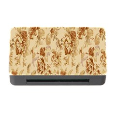 Patterns Flowers Petals Shape Background Memory Card Reader with CF