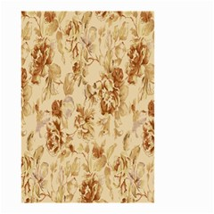 Patterns Flowers Petals Shape Background Small Garden Flag (Two Sides)
