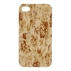 Patterns Flowers Petals Shape Background Apple iPhone 4/4S Premium Hardshell Case