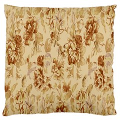 Patterns Flowers Petals Shape Background Large Cushion Case (Two Sides)