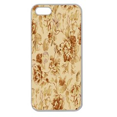 Patterns Flowers Petals Shape Background Apple Seamless iPhone 5 Case (Clear)