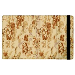 Patterns Flowers Petals Shape Background Apple iPad 2 Flip Case