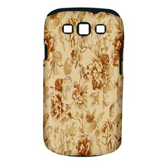 Patterns Flowers Petals Shape Background Samsung Galaxy S III Classic Hardshell Case (PC+Silicone)