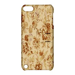 Patterns Flowers Petals Shape Background Apple iPod Touch 5 Hardshell Case with Stand