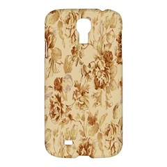 Patterns Flowers Petals Shape Background Samsung Galaxy S4 I9500/I9505 Hardshell Case