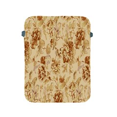 Patterns Flowers Petals Shape Background Apple iPad 2/3/4 Protective Soft Cases